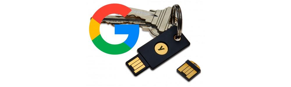 Использование YubiKey с сервисом Google